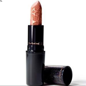 MAC holiday lipstick gold star